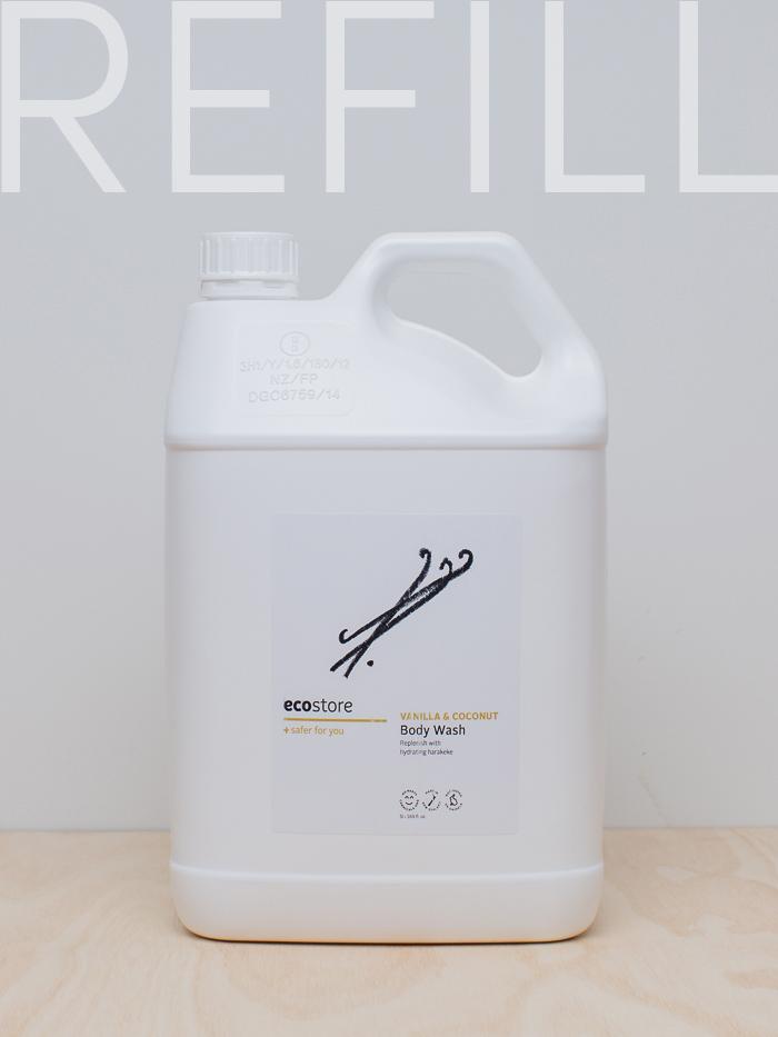 Vanilla & Coconut Body Wash Refill